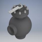 Шаровой клапан для ПСВ 500 Ду 150