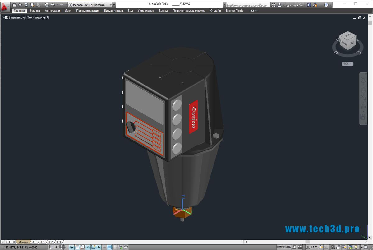 3D-модели насосов Danfoss