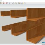 Уголок деревянный для отделки