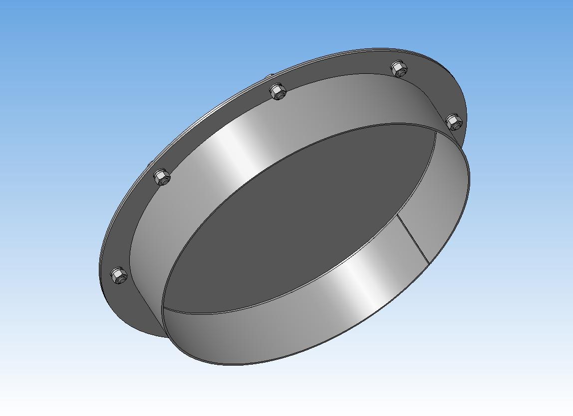 3D модель люк для емкости