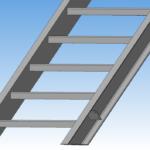 Лестница из профиля