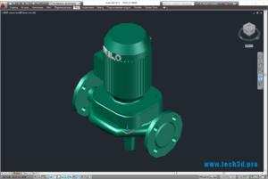 3D-модель насосов Wilo