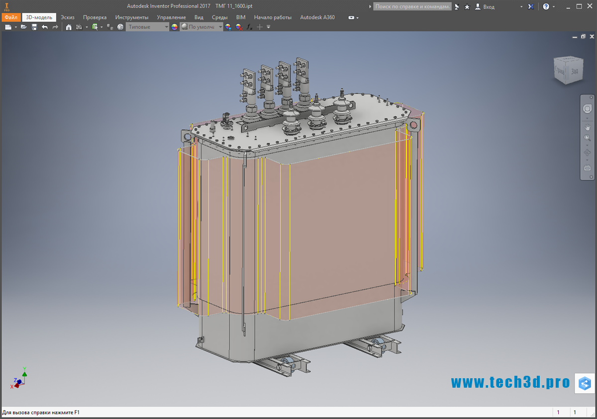 3D-модель ТМГ 11