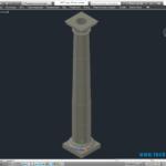 Каменные колонны как декоративный элемент