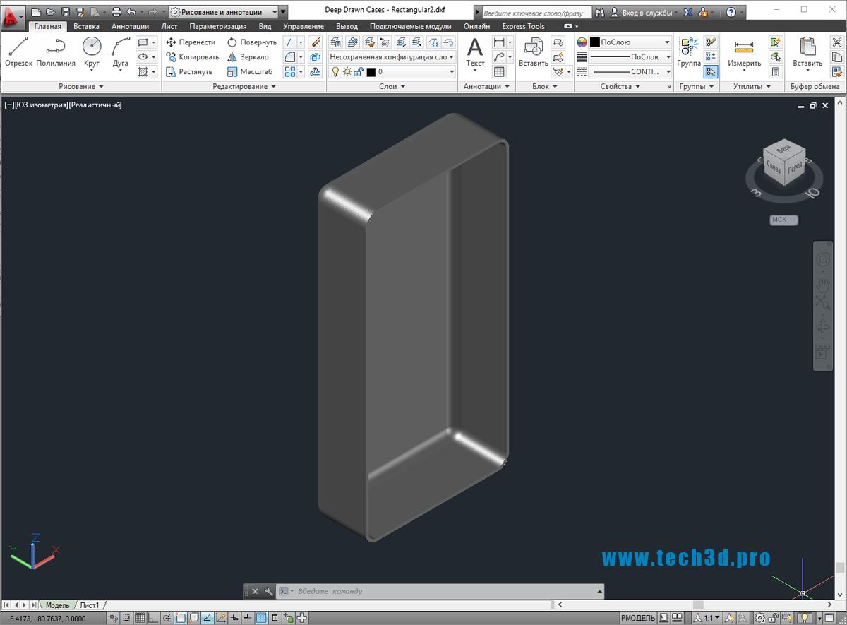 3D-модель схемы электрощита