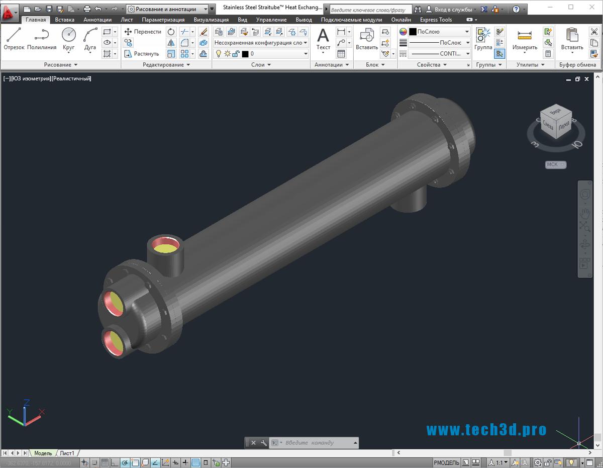 3D-модели теплообменников