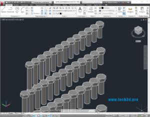3D-модель болта шестигранного