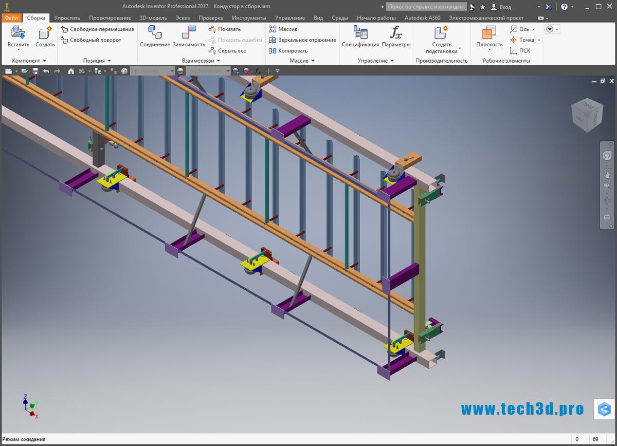 3D-модель кондуктора для отверстий