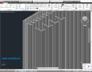 3D-модель уголка неравнополочного