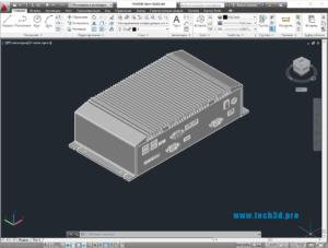 3D модель панели Atom