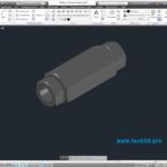 3D модель муфты