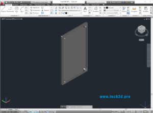 3D модель крышки