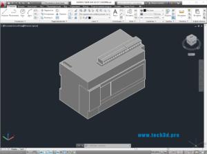 3D модель контроллера M Schneider