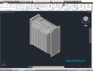 3D модель промышленного компьютера Schneider