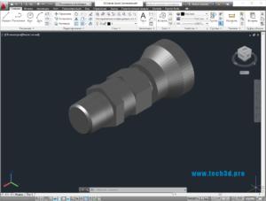 3D модель быстрого коннектора