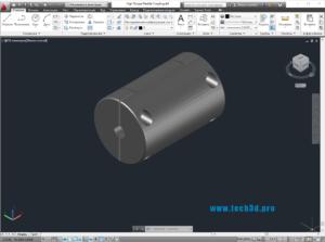 3D модель муфты жесткой соединительной