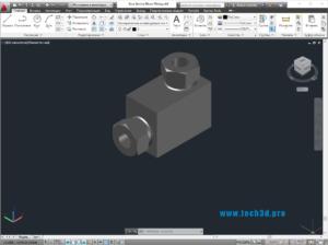 3D модель фитингов отводов переходов