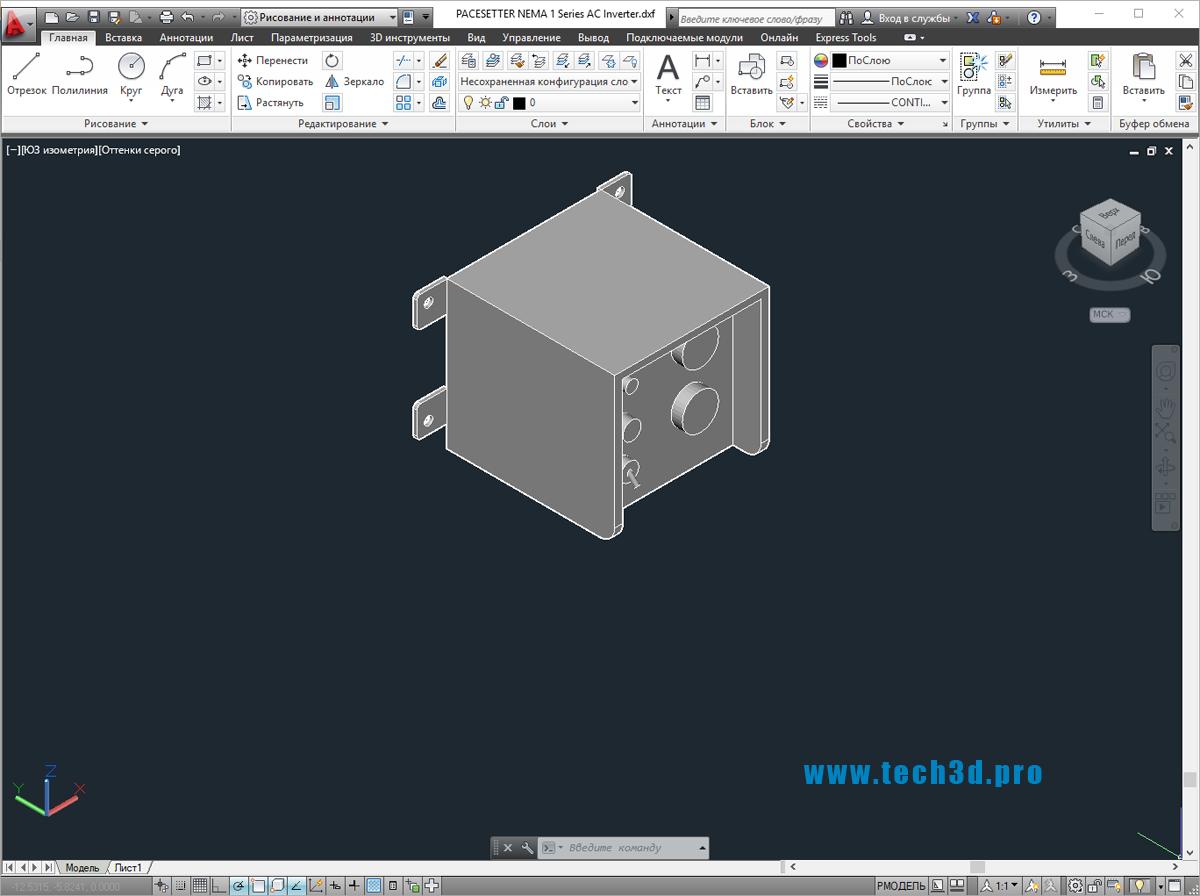 3D моделикомпактных инверторов