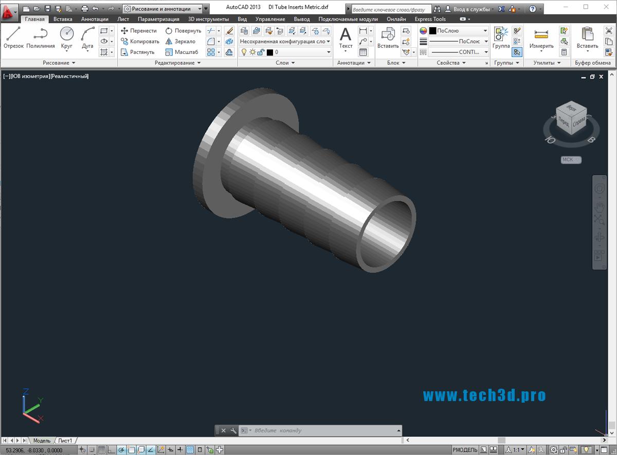 3D модели заклепок елочкой