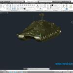 Модель танка IS-7
