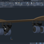 3D модель скейтборда