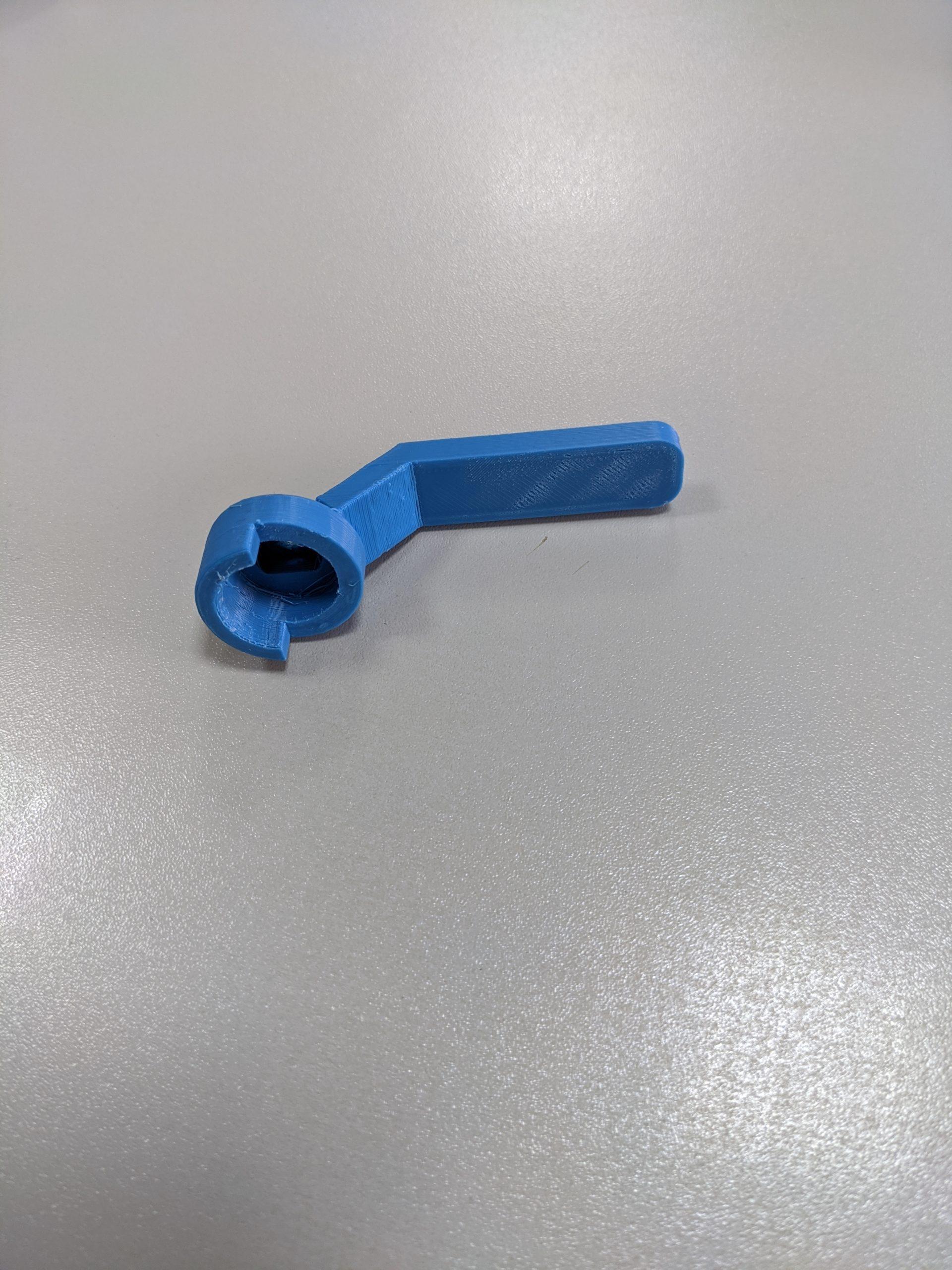 Кран 3D печать