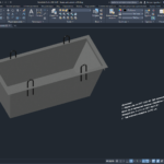 Бадья для цемента 3D