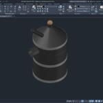 Бидон для нефтепродуктов 3D